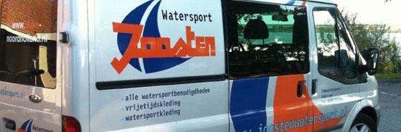 kramer_belettering_bedrijfsautos_joosten_watersport_ford_transit_rotator